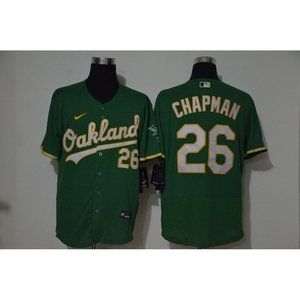 Oakland Athletics Matt Chapman  Green Jersey